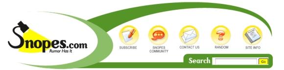 Snopes Banner