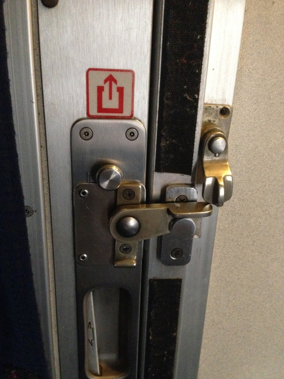 Door latch of evil